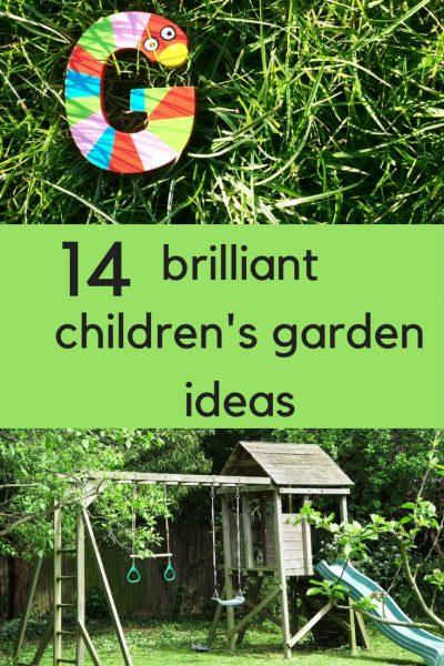 14 brilliant children's gardening ideas #childrensgarden #childrensgardening