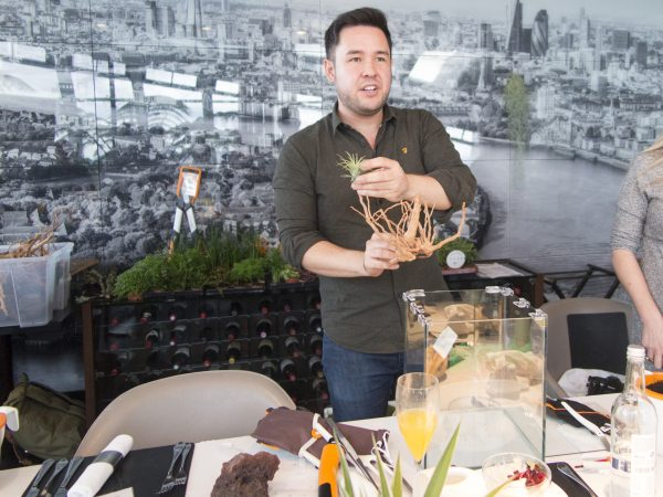 making a terrarium with James Wong