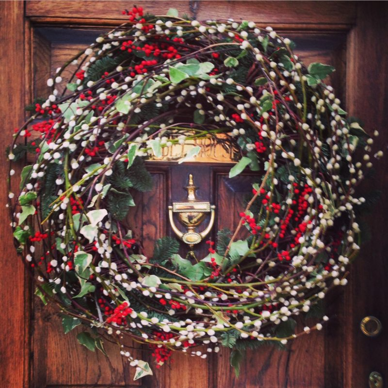 A wreath with style and substance...